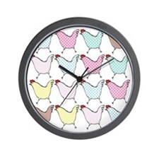 chick-dots Wall Clock