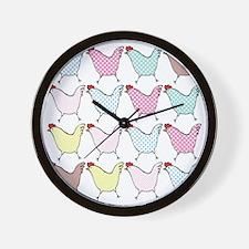 chick-dots Wall Clock