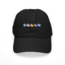 chick-dots-3 Baseball Hat