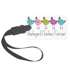 chick-dots-3 Luggage Tag