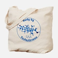body by testosterone Tote Bag