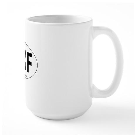 Oval-PCF Large Mug