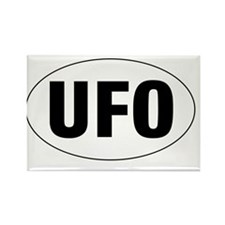 Oval-UFO Rectangle Magnet