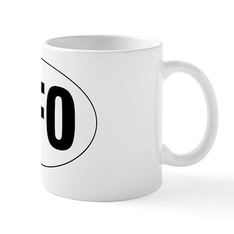 Oval-UFO Mug