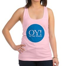 oy to world Racerback Tank Top