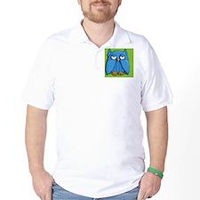 Clutch Aqua Owl green T-Shirt