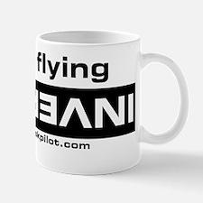 flying inverted Mug