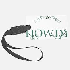 Howdy_Trans Luggage Tag