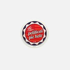 Political-Pie-Hole-Vector-Badge-No-Rib Mini Button