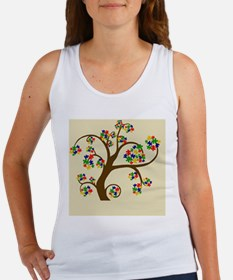 Autism Tree of Life Women's Tank Top