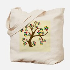 Autism Tree of Life Tote Bag