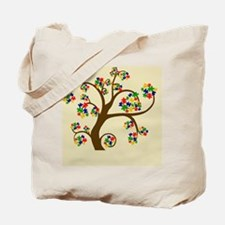 Autism Tree of Life Tote Bag