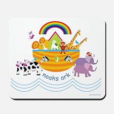 Noahs Ark Animals Mousepad