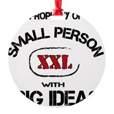 small person words Ornament