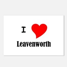 I Love Leavenworth Postcards (Package of 8)