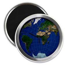 world_map_sphere_1_modern_wall_clock_1t Magnet