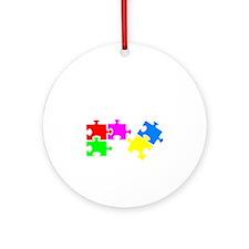 autismSup1B Round Ornament