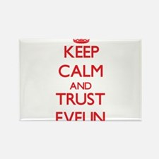 Keep Calm and TRUST Evelin Magnets