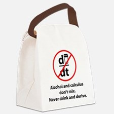 drinkDerive1A Canvas Lunch Bag