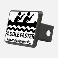 PaddleFasterIHearBanjoMusi Hitch Cover