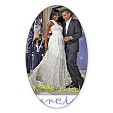 Dancing Obamas Decal