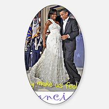 Dancing Obamas Decal