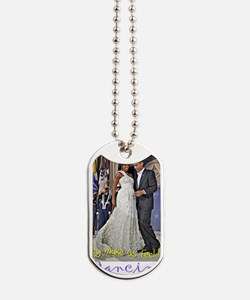 Dancing Obamas Dog Tags