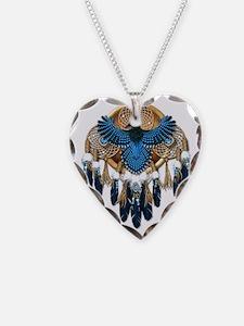 Stellers Jay Mandala - transp Necklace