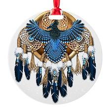 Stellers Jay Mandala - transparent Ornament