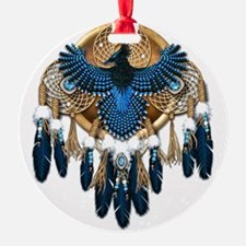 Stellers Jay Mandala - transparent Ornament