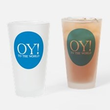 blue oy lg Drinking Glass
