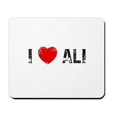I * Ali Mousepad