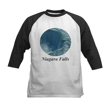 Brink of Niagara Falls Kids Baseball Jersey