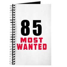 85 most wanted Journal