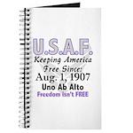 USAF Freedom isn't Free Journal