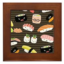 sushimousepadcp Framed Tile