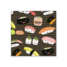 """sushimousepadcp Square Sticker 3"""" x 3"""""""