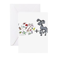 Candy-A$$ Greeting Cards (Pk of 10)