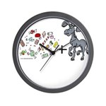 Candy-A$$ Wall Clock