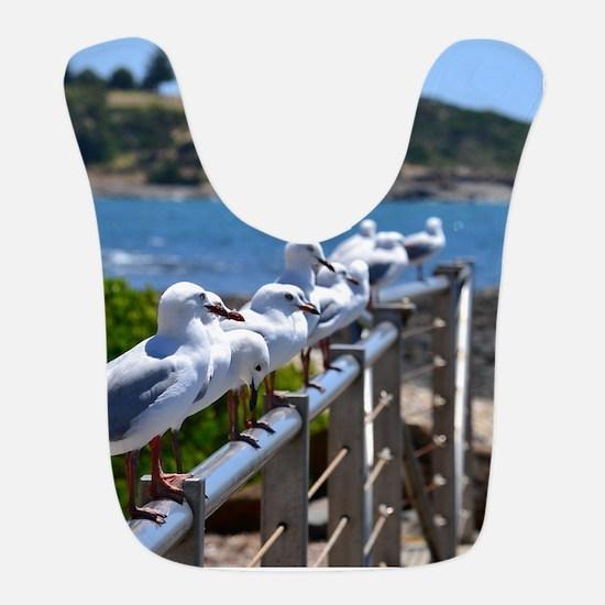 Seagulls Bib