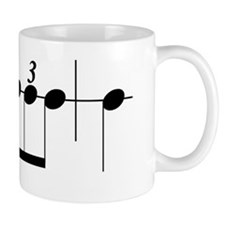 Bruckner Rhythm Bumper Sticker Mug