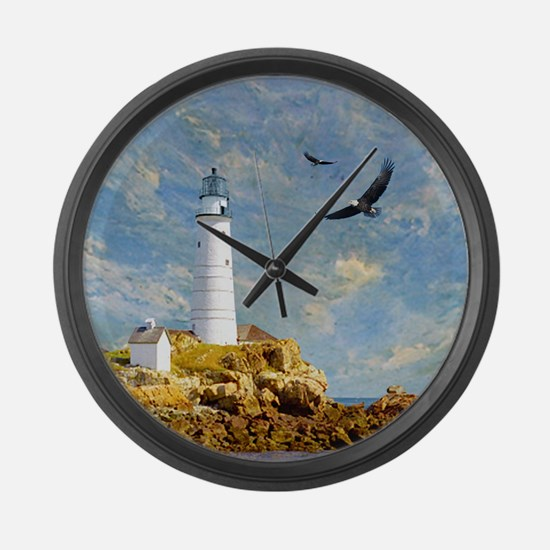 Lighthouse7100 Large Wall Clock