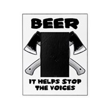 Beer Stops The Voices Picture Frame