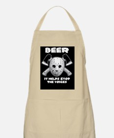 beer stops the voices tbag Apron