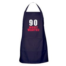 90 most wanted Apron (dark)