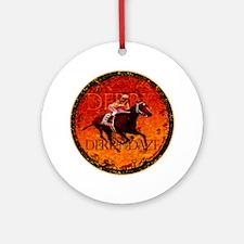 derby daze Round Ornament