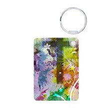 Colorful Cross itouch2 cas Keychains