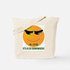 4:20 CAP Tote Bag