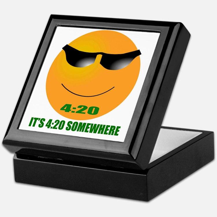 4:20 CAP Keepsake Box