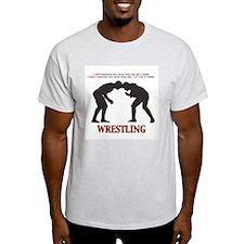 Wrestling Logo  T-Shirt